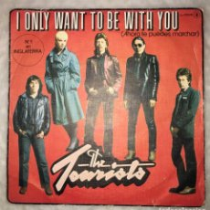 Disques de vinyle: DISCO SINGLE THE TOURISTS - I JUST WANT TO BE WITH YOU-LOGO RECORDS L-37026B. Lote 236031780