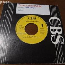 Discos de vinilo: TERENCE TRENT D'ARBY / I'LL BE ALRIGHT / ESPAÑA PROMOCIONAL 1990. Lote 236032795
