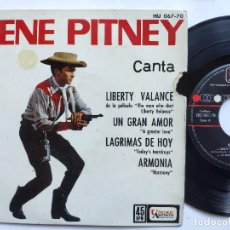 Discos de vinilo: GENE PITNEY - EP SPAIN PS - EX * LIBERTY VALANCE FROM THE MAN WHO SHOT LIBERTY VALANCE + 3. Lote 236033410