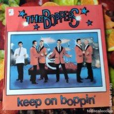 Disques de vinyle: LIQUIDACION LP EN PERFECTO ESTADO - LP_THE BOPPERS_KEEP ON BOPPIN (1979-80). Lote 236034355