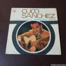 Discos de vinilo: CUCO SANCHEZ - LA LLORONA - TU SOLO TU - ARRIEROS SOMOS - VENCIDA - CBS. Lote 236038115