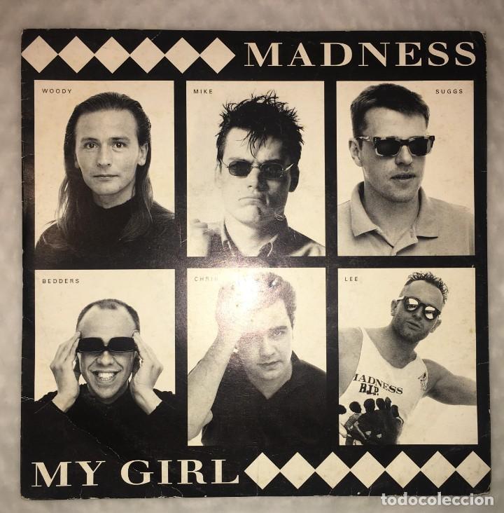 SINGLE MADNESS - MY GIRL-VIRGIN RECORDS VS1425/115476 (Música - Discos de Vinilo - Singles - Pop - Rock Extranjero de los 80)
