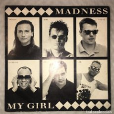 Disques de vinyle: SINGLE MADNESS - MY GIRL-VIRGIN RECORDS VS1425/115476. Lote 236038455