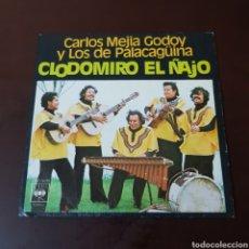 Discos de vinilo: CARLOS MEJIA GODOY Y LOS DE PALACAGUINA - CLODOMIRO EL ÑAJO. Lote 236039530