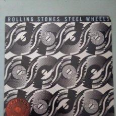 Discos de vinilo: LP-ROLLING STONES - STEEL WHEELS. Lote 236053130