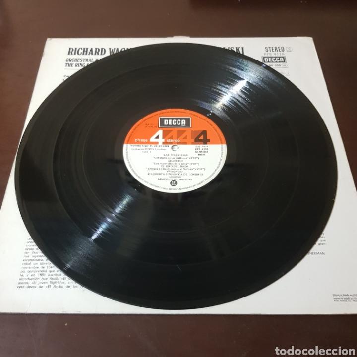 Discos de vinilo: WAGNER - STOKOWSKI - FRAGMENTOS ESCOGIDOS DE EL ANILLO DEL NIBELUNGO - LONDON SYMPHONY ORCHESTRA - Foto 4 - 236055120