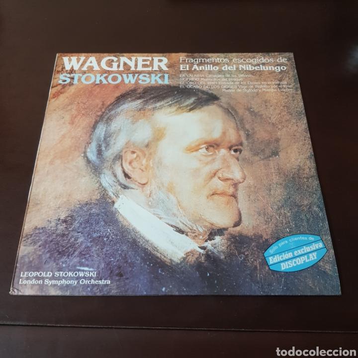 Discos de vinilo: WAGNER - STOKOWSKI - FRAGMENTOS ESCOGIDOS DE EL ANILLO DEL NIBELUNGO - LONDON SYMPHONY ORCHESTRA - Foto 6 - 236055120