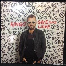 Discos de vinilo: RINGO STARR, LP RINGO GIVE MORE LOVE, NUEVO, PRECINTADO, AÑO 2017. Lote 236082210