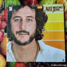 Discos de vinilo: LP_JUAN PARDO_JUAN MUCHO MAS JUAN (1979-80). Lote 236029940
