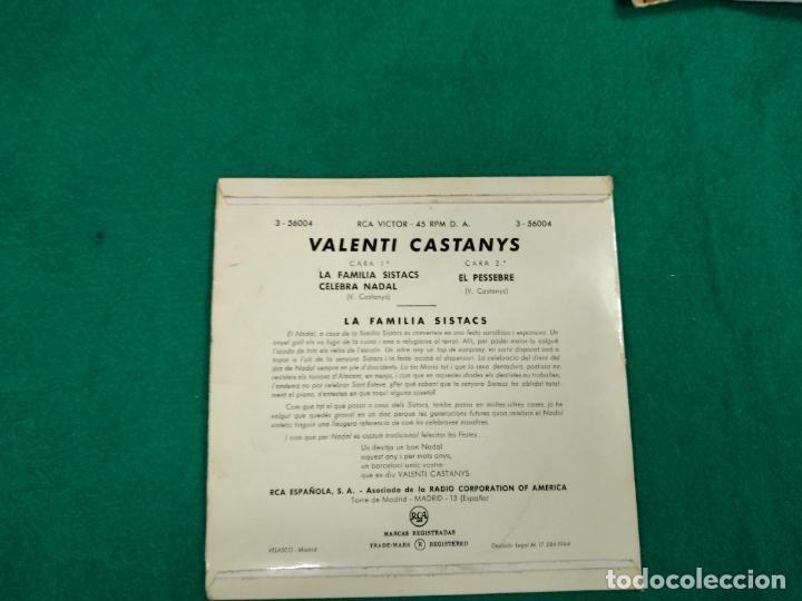 Discos de vinilo: LA FAMILIA SISTACS CELEBRA NADAL. EL PESSEBRE POR CASTANYS. EP RCA VICTOR - Foto 2 - 236085275
