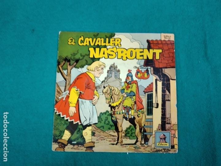EL CAVALLER NASROENT. EP ODEON. CUENTOS INFANTILES. (Música - Discos de Vinilo - EPs - Música Infantil)