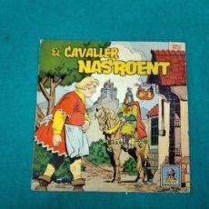 Discos de vinilo: EL CAVALLER NASROENT. EP ODEON. CUENTOS INFANTILES.. Lote 236085790