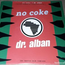 Discos de vinilo: SINGLE - DR. ALBAN - NO COKE - DR ALBAN. Lote 236088425