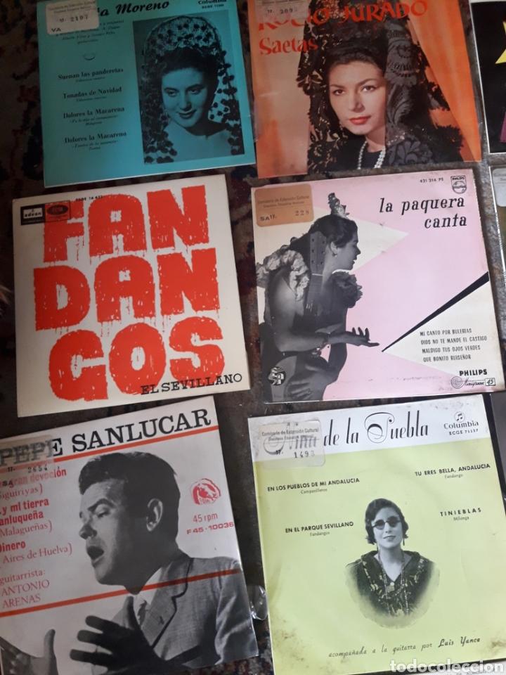 Discos de vinilo: 23 antiguos vinilos de diversos artistas españoles de flamenco - Foto 2 - 236090810