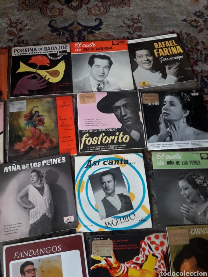 Discos de vinilo: 23 antiguos vinilos de diversos artistas españoles de flamenco - Foto 3 - 236090810