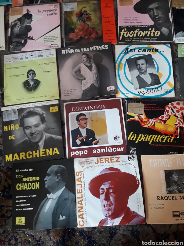 Discos de vinilo: 23 antiguos vinilos de diversos artistas españoles de flamenco - Foto 6 - 236090810