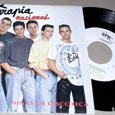 Discos de vinilo: SINGLE - TERAPIA NACIONAL - NIÑAS DE DISCOTECA - PROMO - TERAPIA NACIONAL - PROMOCIONAL. Lote 236096165
