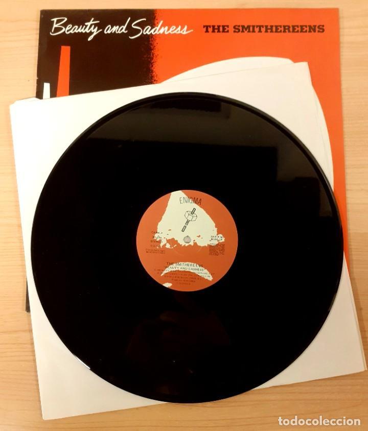 """Discos de vinilo: THE SMITHEREENS """"BEATY AND SADNESS) MINI LP DRO / ENIGMA RECORDS 1988 - Foto 3 - 236097775"""