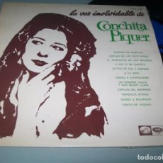 Discos de vinilo: CONCHITA PIQUER - LA VOZ INOLVIDABLE VOL. 2 - LA VOZ DE SU AMO EDITADO EN 1966. Lote 236105445