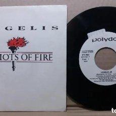 Discos de vinil: VANGELIS / CHARIOTS OF FIRE / SINGLE 7 INCH. Lote 236107310