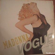 "Discos de vinilo: MADONNA - VOGUE - 12"" REMIX - SIRE ALEMANIA.. Lote 236111580"