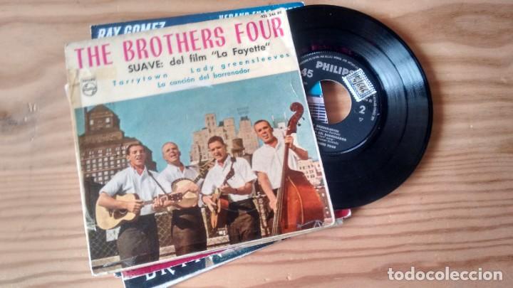 E.P. (VINILO) DE THE BROTHERS FOUR AÑOS 60 (Música - Discos de Vinilo - EPs - Country y Folk)