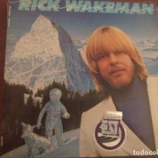 Discos de vinilo: RICK WAKEMAN - RHAPSODIES - 2LP 1979, AM RECORDS ESPAÑA,GATEFOLD. Lote 236114490