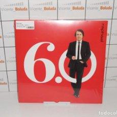 Discos de vinilo: RAPHAEL 6.0 ( 2 LPS-VINILO) NUEVO Y PRECINTADO ENVIÓ CERTIFICADO A ESPAÑA GRATIS. Lote 236114555
