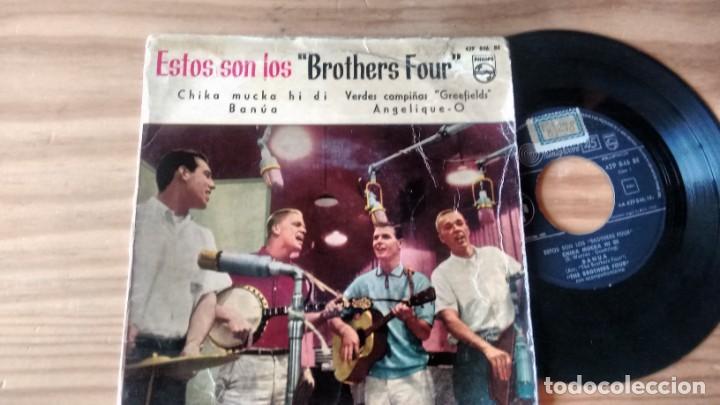 E.P. (VINILLO) DE THE BROTHERS FOUR AÑOS 60 (Música - Discos de Vinilo - EPs - Country y Folk)