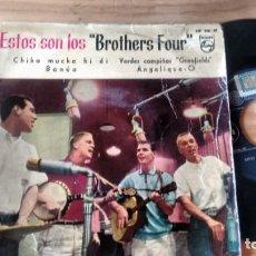 Discos de vinilo: E.P. (VINILLO) DE THE BROTHERS FOUR AÑOS 60. Lote 236115790