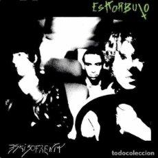 Discos de vinilo: ESKORBUTO ESKIZOFRENIA (PORTADA SUICIDAS) (LP) . VINILO REEDICIÓN VINILO VERD. Lote 236115935