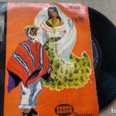 Discos de vinilo: E.P. (VINILO) DE HUGO DEL CARRIL AÑOS 60. Lote 236116860