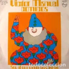 Discos de vinilo: VICTOR MANUEL - COMICOS - SINGLE PHILIPS 1975. Lote 236117470