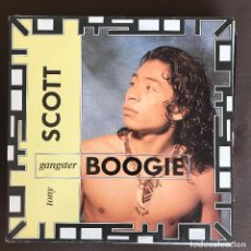 Discos de vinilo: TONY SCOTT - GANGSTER BOOGIE - 12'' MAXISINGLE BCM 1990. Lote 236117830