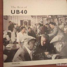 Discos de vinilo: UB40 - THE BEST OF UB40 VOL 1 - MADE IN GERMANY - GATEFOLD, VER FOTO GALLETA. Lote 236118385