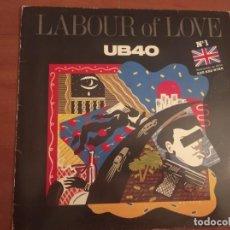 Discos de vinilo: UB40 - LABOUR OF LOVE - DEP ESPAÑA 1985. Lote 236118935