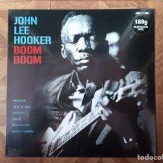 Discos de vinilo: JOHN LEE HOOKER - BOOM BOOM - LP 2018 18 CANCIONES - PRECINTADO. Lote 236119250