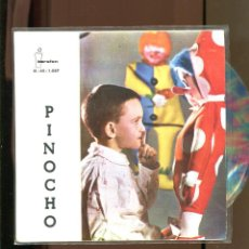Discos de vinilo: PINOCHO. IBEROFON 1961. VINILO DE COLORINES. BUENO. Lote 236120270