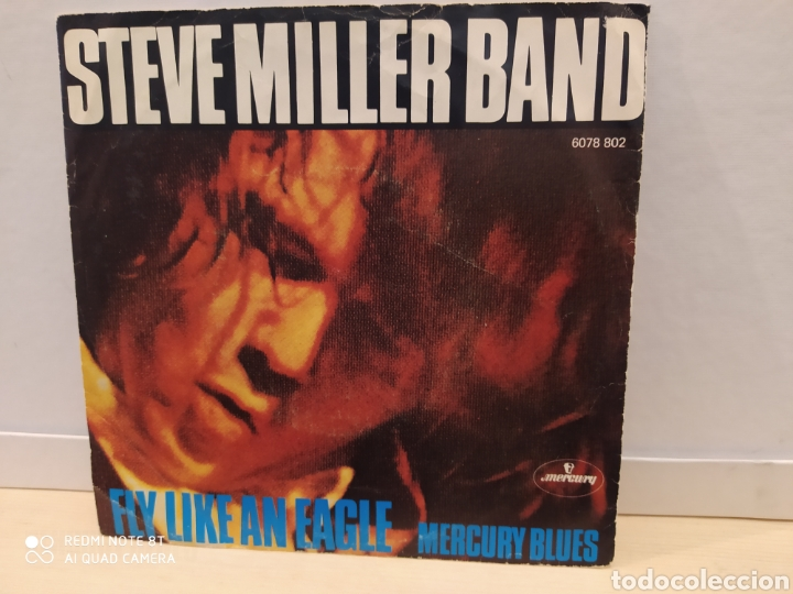 STEVE MILLER BAND ‎– FLY LIKE AN EAGLE . SINGLE 1976 (Música - Discos - Singles Vinilo - Pop - Rock - Extranjero de los 70)