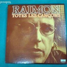 Disques de vinyle: RAIMON.TOTES LES CANÇONS. BELTER 10 LPS + LIBRITO 50 PAGINAS HISTORIA Y LETRAS.. Lote 236120475