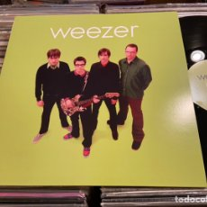 Discos de vinilo: WEEZER GREEN ALBUM LP DISCO DE VINILO. Lote 236121300
