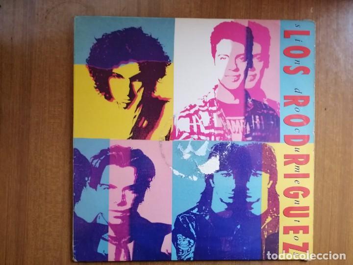 DISCO VINILO LOS RODRIGUEZ. SIN DOCUMENTOS. 1993 (Música - Discos - LP Vinilo - Pop - Rock Extranjero de los 90 a la actualidad)