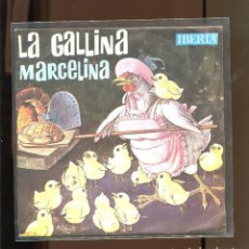 Discos de vinilo: LA GALLINA MARCELINA. IBERIA 1964. PUBLICIDAD SKIP. Lote 236125840