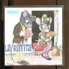 Discos de vinilo: LA RATITA. IBERIA 1964. PUBLICIDAD SKIP. Lote 236126065