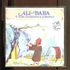 Discos de vinilo: ALI BABA Y LOS CUARENTA LADRONES. ZAFIRO 1972. BUENO. Lote 236126950