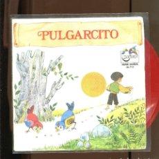 Discos de vinilo: PULGARCITO. ZAFIRO 1972. VINILO ROJO. Lote 236127690
