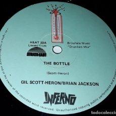Discos de vinilo: MAXI SINGLE - GIL SCOTT HERON / BRIAN JACKSON - THE BOTTLE - MADE IN UK. Lote 236128280