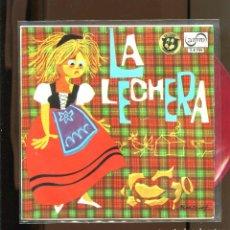 Discos de vinilo: LA LECHERA . ZAFIRO 1966. VINILO ROJO. PERFECTO. Lote 236128310