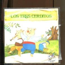 Discos de vinilo: LOS TRES CERDITOS. ZAFIRO 1972.. Lote 236128940