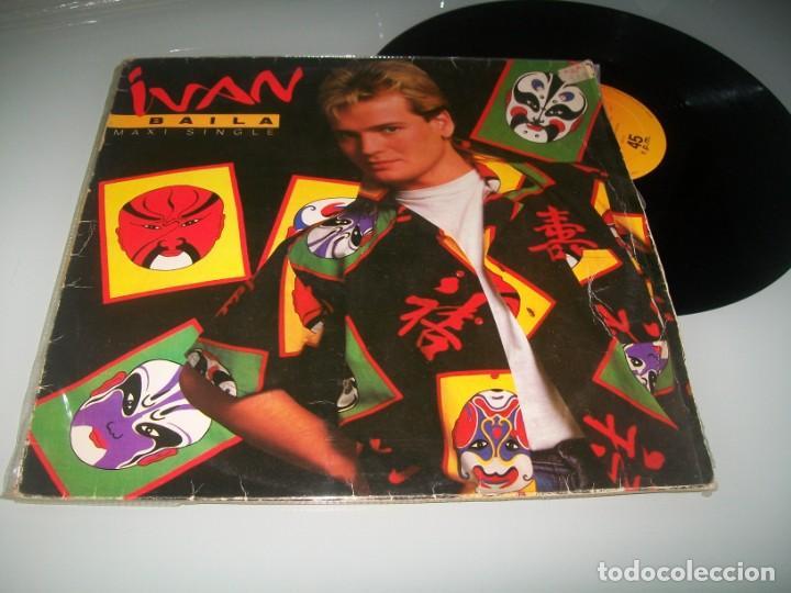 IVAN - BAILA ..EDICION MAXISINGLE - EXTENDED VERSION ORIGINAL DE 1985 SINTONIA VUELTA CICLISTA (Música - Discos de Vinilo - Maxi Singles - Solistas Españoles de los 70 a la actualidad)